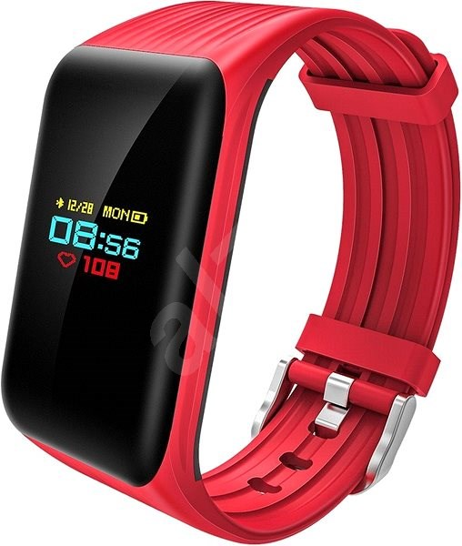 CUBE1 Smart band DC28 Plus Red - Fitness náramek