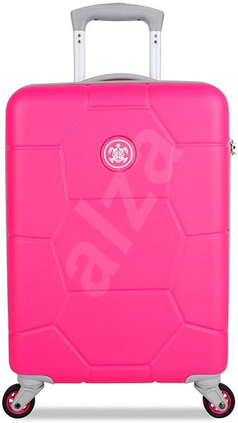 Suitsuit TR-1248/3-S ABS Caretta Hot Pink - Cestovní kufr