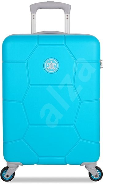 Suitsuit TR-1250/3-S ABS Caretta Peppy Blue - Cestovní kufr