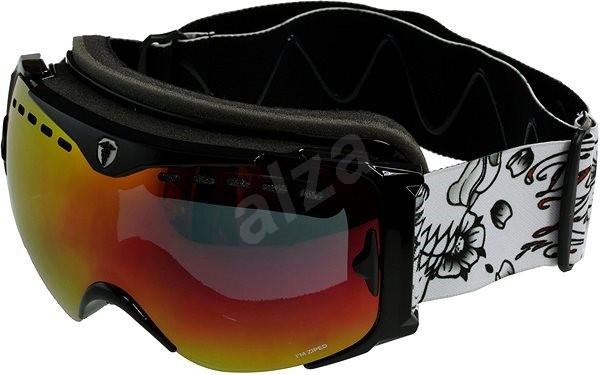 Dr.Zipe Guard - Black - Orange w Red Multi + Orange - Lyžařské brýle