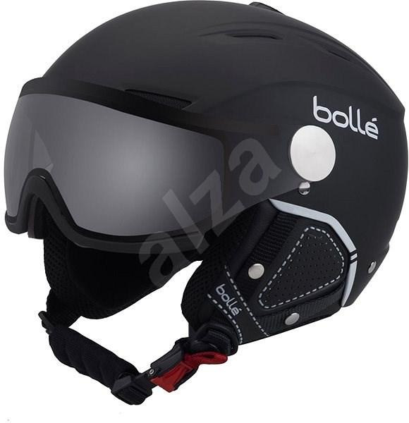 204248165 Bollé Backline Visor Premium-Soft Black & White - Lyžařská helma ...