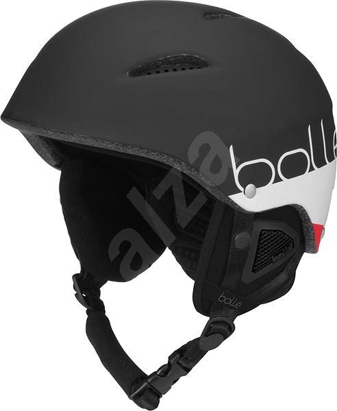 Bollé B-Style Matte Black White, (54-58 cm) - Lyžařská helma