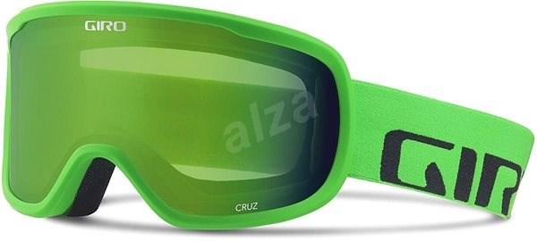 9c7036180 GIRO Cruz Bright Green Word Mark Loden Green - Lyžařské brýle | Alza.cz