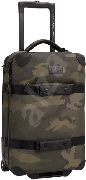 Burton Wheelie FLT Deck Worn Camo Ballistic - Cestovní kufr