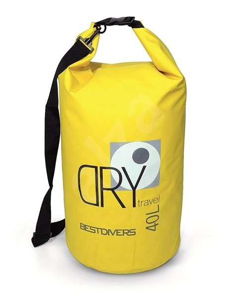 Best Divers Yellow Dry Bag 40l - Vodotěsný vak