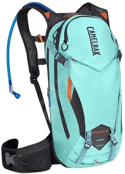 CamelBak KUDU Protector 10 Lake Blue/Laser Orange S/M - Cyklistický batoh