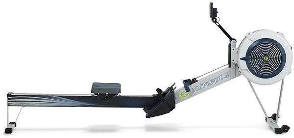Concept2 model D s PM5 šedý - Veslařský trenažér