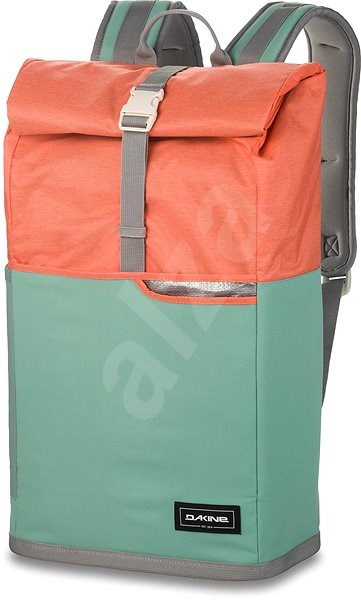 Dakine Section Roll Top Wet/Dry 28L Green - Městský batoh