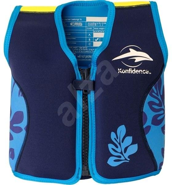 Konfidence vesta na plavání JACKET ORIGINAL, L, modrá - Vesta