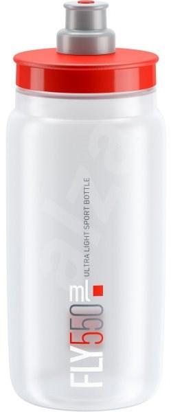 ELITE láhev FLY čirá/červené logo, 550 ml - Láhev na pití
