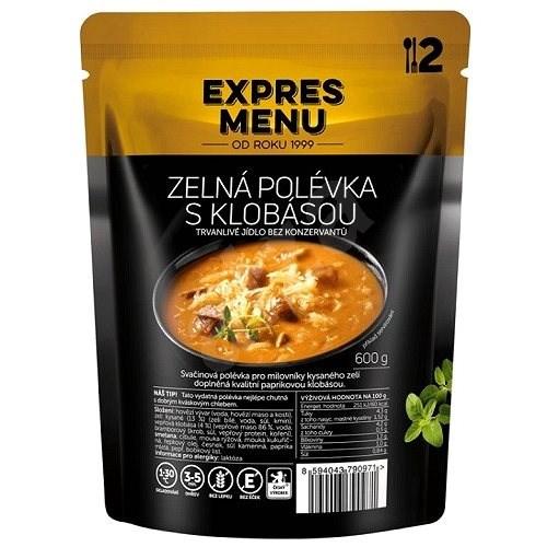 Expres Menu Zelná polévka s klobásou - MRE