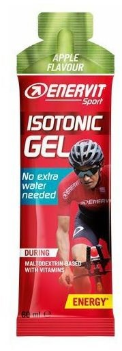 ENERVIT Isotonic Gel, 60 ml, jablko - Energetický gel