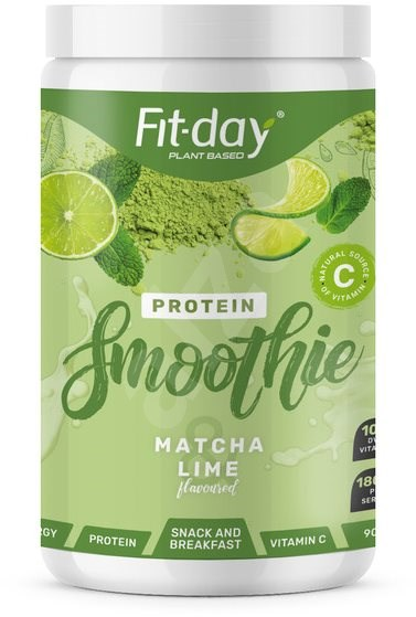Fit-Day Protein Smoothie, Matcha/Lime, 900g - Smoothie