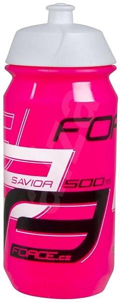 Force SAVIOR 0,5 l, růžovo-bílo-černá - Láhev na pití