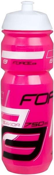Force SAVIOR 0,75 l, růžovo-bílo-černá - Láhev na pití