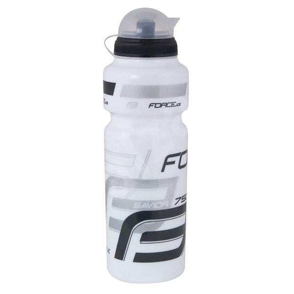 Force SAVIOR ULTRA 0,75 l, bílo-šedo-černá - Láhev na pití