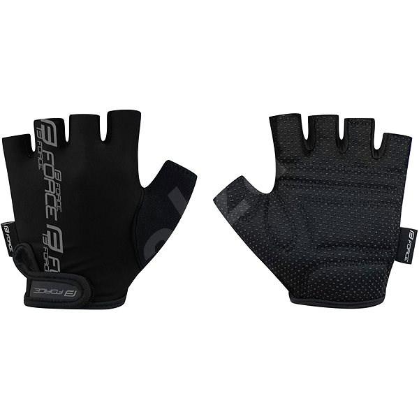 Force KID, černé M - Cyklistické rukavice