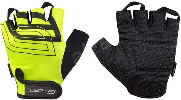 Force SPORT, fluo XXL - Cyklistické rukavice