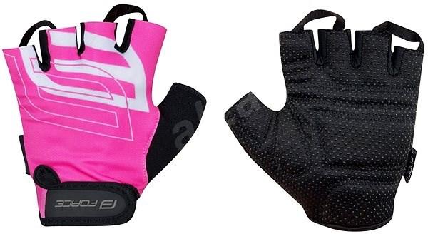 Force SPORT, růžové XL - Cyklistické rukavice