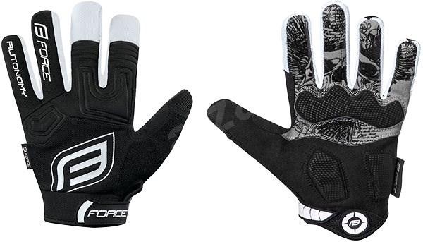 Force KID MTB AUTONOMY, černé S - Cyklistické rukavice