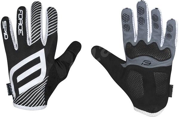 Force MTB SPID, černé M - Cyklistické rukavice