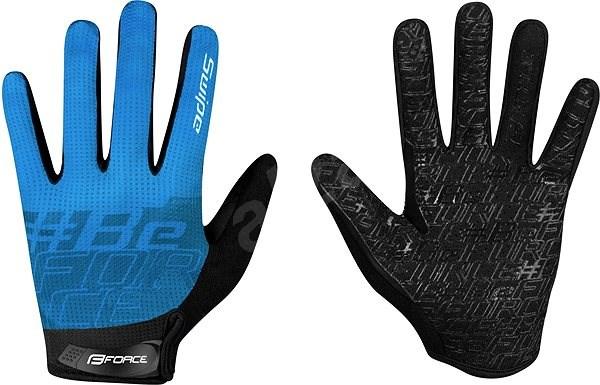 Force MTB SWIPE, modré XXL - Cyklistické rukavice