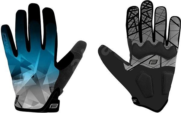 Force MTB CORE, modré XL - Cyklistické rukavice
