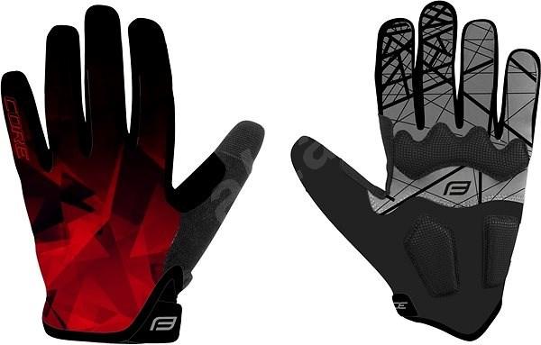 Force MTB CORE, červené XXL - Cyklistické rukavice