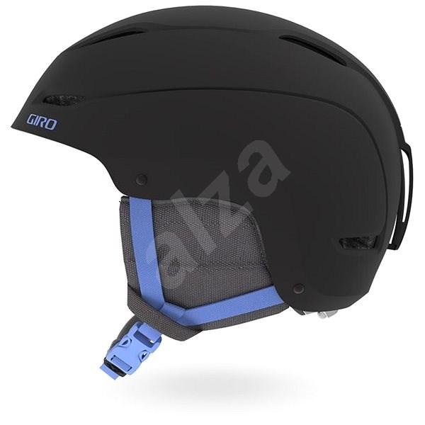 GIRO Ceva Mat Black/Shock Blue M - Lyžařská helma