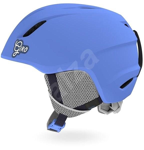 GIRO Launch Mat Shock Blue XS - Lyžařská helma