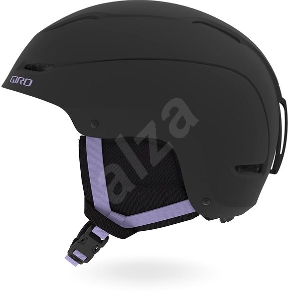 GIRO Ceva Mat Black/Fluff Purple vel. M - Lyžařská helma