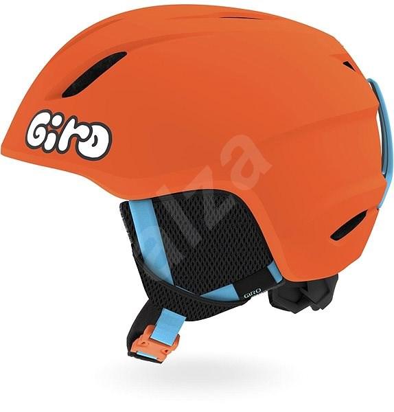 GIRO Launch Mat Bright Orange/Jelly - Lyžařská helma