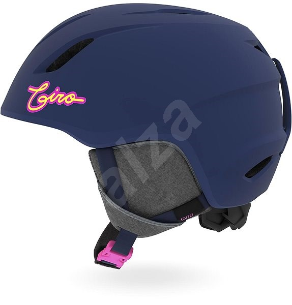 GIRO Launch Mat Midnight/Neon Lights vel. S - Lyžařská helma