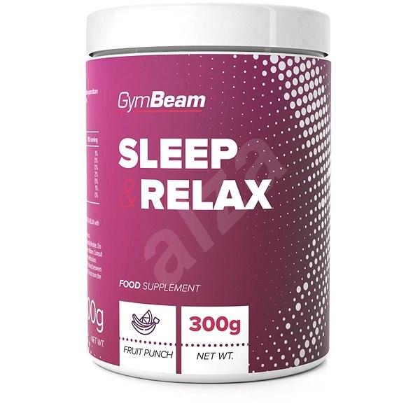 GymBeam Sleep & Relax 300g, fruit punch - Sportovní nápoj