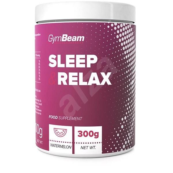GymBeam Sleep & Relax 300 g, watermelon - Sportovní nápoj