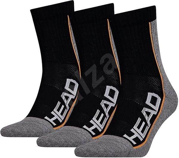 Head Tennis 3P Performance černá vel. 43 - 46 EU - Ponožky