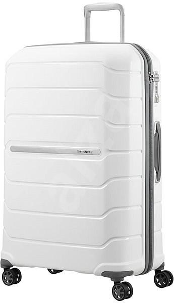 Samsonite Flux SPINNER 75/28 EXP White - Cestovní kufr s TSA zámkem