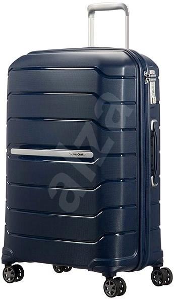 Samsonite Flux SPINNER 69 25 EXP Navy Blue - Cestovní kufr s TSA zámkem 502954070a4