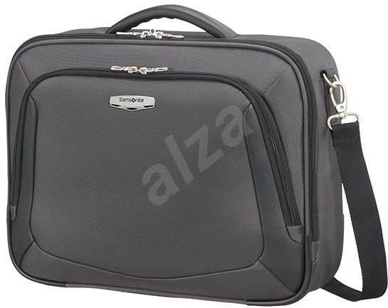 98597d07df Samsonite X BLADE 3.0 LAPTOP SHOULDER BAG Grey Black - Brašna na notebook