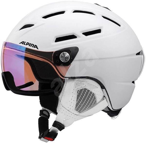 d720108683 Alpina Griva Visor VHM bílá vel. 55-59 - Lyžařská helma