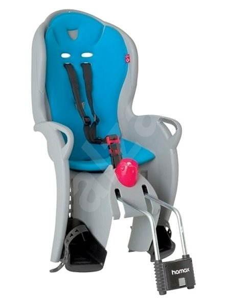 Hamax Sleepy světle šedá/modrá - Dětská sedačka na kolo