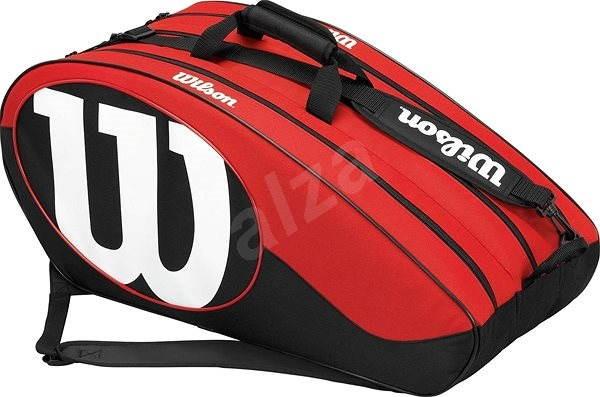 Wilson Match II 12PK BAG BKRD - Sportovní taška