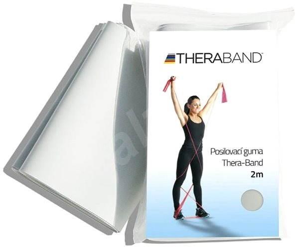 Thera-Band 2m stříbrná - Posilovací guma