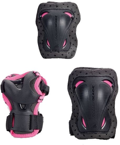 Rollerblade Bladegear Junior 3 Pack Pink XS - Chrániče
