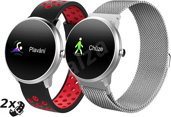iGET Fit F4 Silver - Chytré hodinky