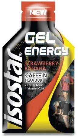 ISOSTAR 35g gel coffein jahoda,banán - Energetický gel