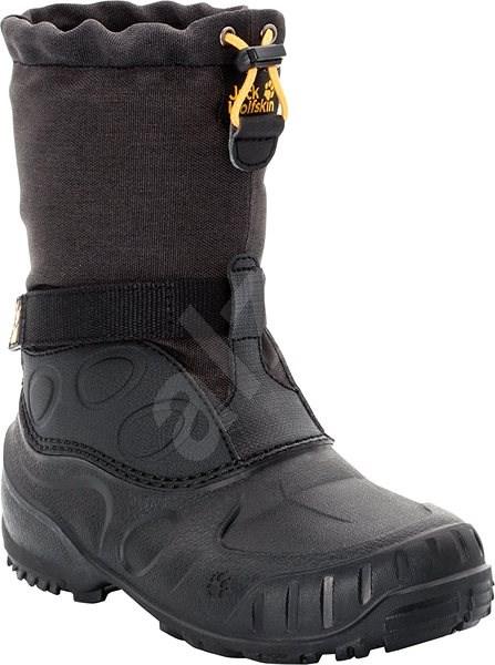 Jack Wolfskin Iceland High K black EU 33 / 200 mm - Outdoorové boty