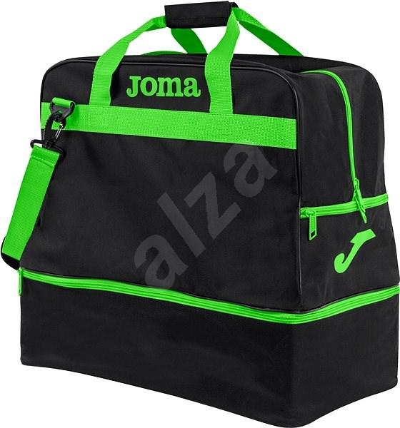 Joma Trainning III Black-fluorGgreen - L - Sports Bag