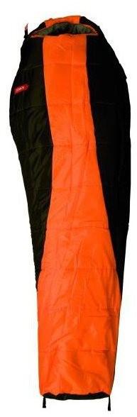 Jurek LADY DV vel. L oranžovo-černý - Spací pytel