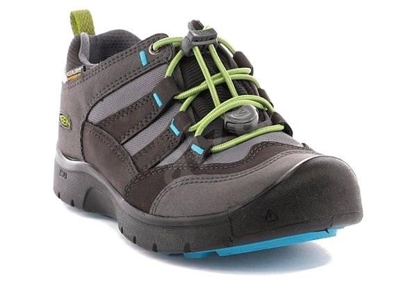Keen Hikeport WP Jr. magnet/greenery EU 36 / 222 mm - Outdoorové boty